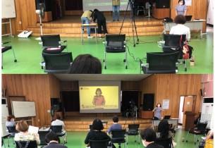 송산노인종합복지관 소방교육 및 재난대피훈련 실시