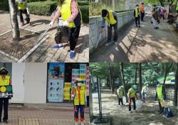 노인사회활동지원사업 8월 참여자 활동점검 실시